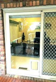 installing a dog door in wall doors with pet installed electric install cost to installing a dog door