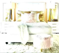 white and gold bedroom decor grey pink