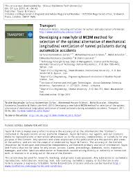 tech office alternative. (PDF) Developing A New Hybrid MCDM Method For Selection Of The Optimal Alternative Mechanical Longitudinal Ventilation Tunnel Pollutants During Tech Office