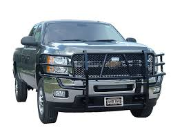 Amazon.com: Ranch Hand GGC111BL1 Legend Grille Guard for Chevy ...