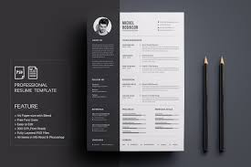 Design Resume Template Photos Graphics Fonts Themes Templates