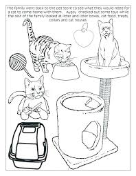 Christmas Cat Coloring Page Dog And Pages Swifteus