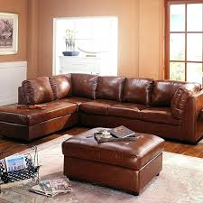 ottomans cognac leather ottoman sectional sofa and storage free today coffee tab cognac