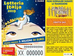 Lotteria Italia 2020, ecco i numeri dei biglietti vincenti ...