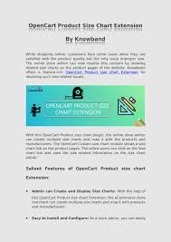 How To Create A Size Chart Opencart Product Size Chart Extension By Knowband By