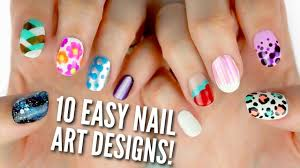 Nail Polish Ki Design 10 Easy Nail Art Designs For Beginners The Ultimate Guide