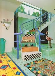 postmodern interior architecture. POSTMODERN INTERIOR DESIGN, Unknown Apartment, USA, 1980s Postmodern Interior Architecture