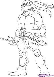 ninja turtles coloring pages.  Coloring Teenage Mutant Ninja Turtles Coloring Pages  Raphael For L