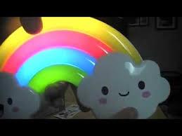IpowLED Baby Kid Cute Rainbow Sound Sensor Night Light Lamp Review