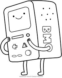 Disegno Di Bmo Il Computer Adventure Time Da Colorare