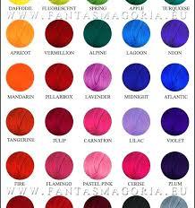 Ion Color Chart Kool Aid Hair Chart Ion Color Brilliance Shark Blue Kool Aid