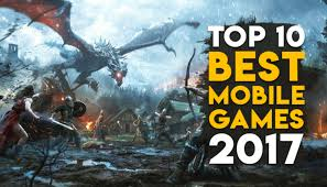 top 10 best free mobile games of 2017