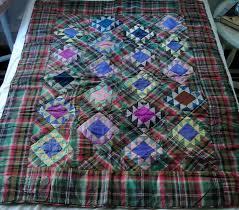80 best tartan quilts images on Pinterest | Throw blankets, Big ... & antique Tartan quilt Adamdwight.com
