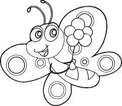 Tranh tô màu côn trùng dễ thương nhất cho bé yêu