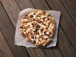 pizza hut chocolate chip cookie. Unique Chip Pizza Hut Hershey Su0027mores To Chocolate Chip Cookie E
