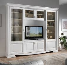 Wooden Cabinets For Living Room Bookshelf Provence Style With Glass Doors Wooden Furniture Glass