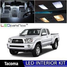 toyota trucks 2014 white. amazoncom ledpartsnow 20052015 toyota tacoma led interior lights accessories replacement package kit 7 pieces white automotive trucks 2014 white