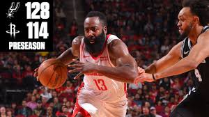 James Harden drops 40 points on the Spurs in a Rockets ...