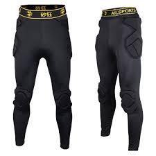Reusch Goalie Pants Size Chart 2017 New Professional Soccer Goalkeeper Kits Men Sponge Slim