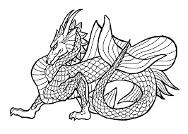 Dragon Coloring Pages Easy Best Of Drawing Dragons Drawings Ninjago
