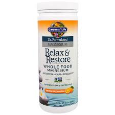 garden of life dr formulated magnesium relax orange dreamsicle 6 9 oz 196 g discontinued item