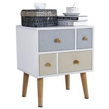 Storage Cabinet Wood Lifewit Wood Side Table Night Table Storage Cabinet Lifewitstore
