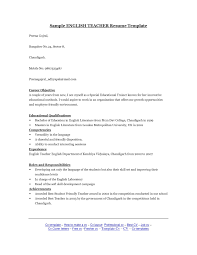 Sample Cv English Literature Professional Resumes Sample Online