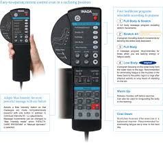 massage chair remote control replacement. easy-to-operate remote control even in a reclining position. massage chair replacement