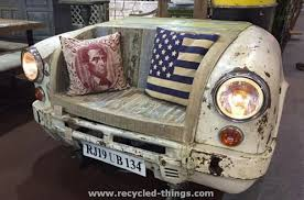 furniture upcycling ideas. Furniture Upcycled Car Part Chair Upcycling Ideas