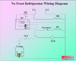 refrigerator wire diagram electrical diagram no frost refrigerator images no frost refrigerator wiring diagram