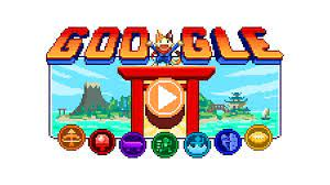 Tokyo Olympics Google Doodle