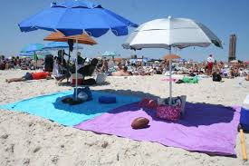 beach towels on the beach. Author: Todd Moore Beach Towels On The