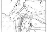 Elegant Kleurplaten Paarden In De Stal Klupaatswebsite
