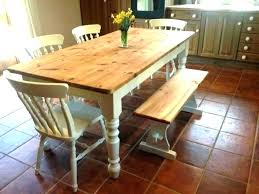 dining tables round farmhouse dining table and chairs set farm style rustic cha