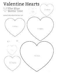 Microsoft Word Hearts Valentine Heart Template Printable Gulflifa Co