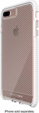 iphone 8 plus case. tech21 - evo check case for apple® iphone® 8 plus white/clear iphone