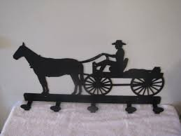 Horse Coat Rack Horse and Wagon Coat Rack Metal Silhouette by CabinHollow on Zibbet 84