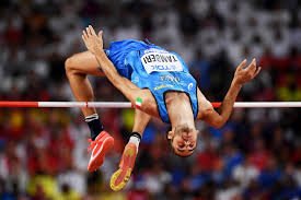 Someone who competes in the high jump 2. Fgwcfngldtnv5m