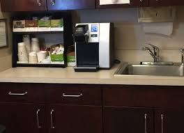 office coffee station. Patient Coffee Station Office R