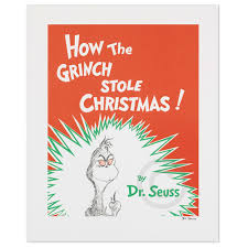 how the grinch stole christmas book cover. Perfect Christmas How The Grinch Stole Christmas  Book Cover To The Christmas O