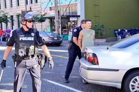 Police In Vancouver Detain Man For Nearly Running Down