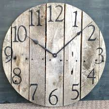 diy wood clocks large rustic clock best large wooden clock ideas on how large rustic wall diy wood clocks