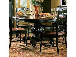 hooker dining room set hooker furniture dining room indigo creek pedestal dining table by hoo