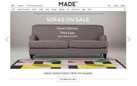 best furniture websites design. Made.com Best Furniture Websites Design E