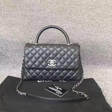 chanel 2017 handbags. 100% auth new chanel 2016/2017 medium python coco handle bag black caviar chanel 2017 handbags