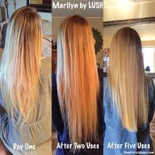 Marilyn By Lush Hair Lightener Review