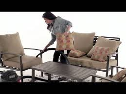 how to clean patio furniture sears