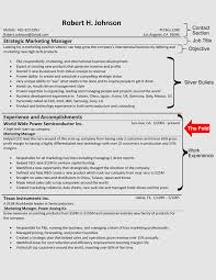 resume templates the hybrid resume format