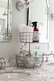 design bathroom counter organization ideas good
