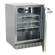 Refrigerator Outdoor Bull Premium Outdoor Rated Stainless Fridge